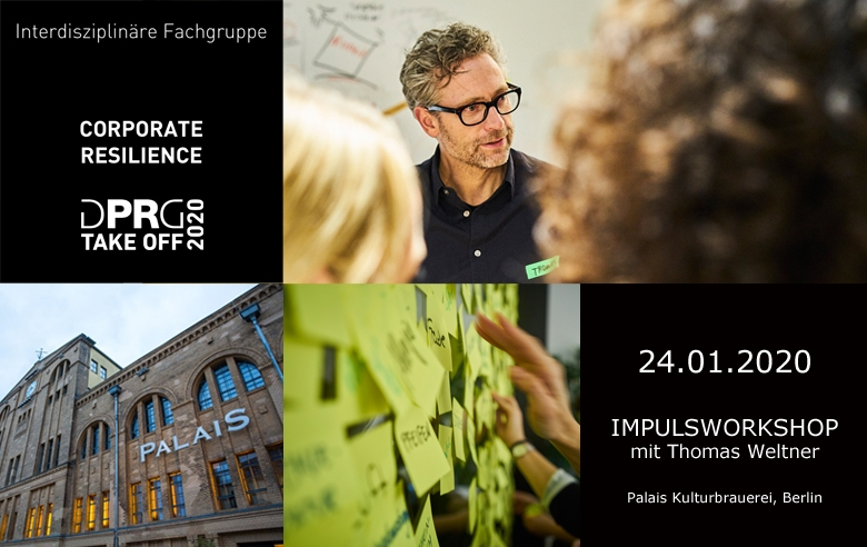 Neue Fachgruppe: Corporate Resilience